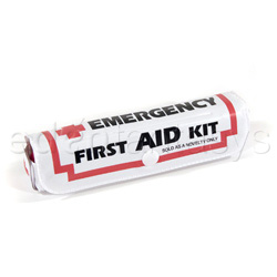 Traditional vibrator - First aid pouch with vibe - view #2