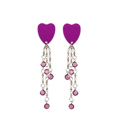Body jewelry - Body charms hearts - view #1