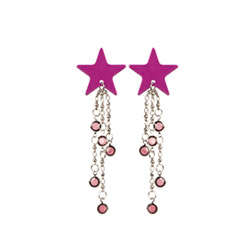 Body charms stars - body jewelry