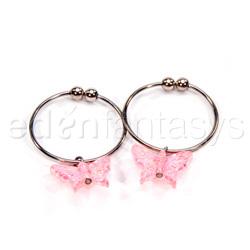 Houston's nipple ring pink - Nipple jewelry
