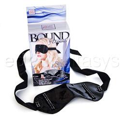Blindfold - Bound by diamonds ribbon eye mask - view #3