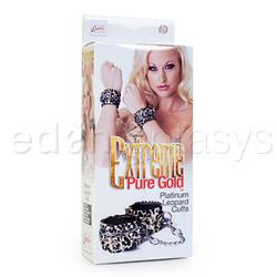 Wrist cuffs - Extreme pure gold cuffs - view #4