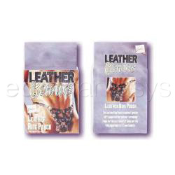 Leather ring pouch - DVD