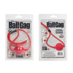 Mouth gag - Silicone ballgag with string - view #3