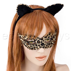Kitty Kat mask and ears - costume