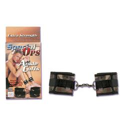 Special ops wrist cuffs - DVD