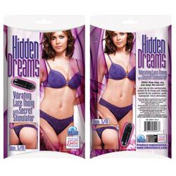 Vibrating panty  - Vibrating lace thong - view #2