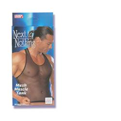 Mesh muscle tank - Male torso jumper