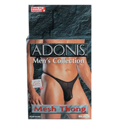 Adonis men's collection mesh thong