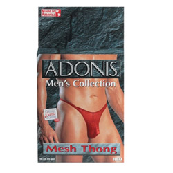 Adonis men's collection mesh thong - sexy lingerie