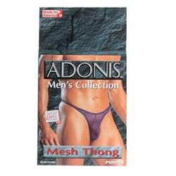 Adonis men's collection mesh thong