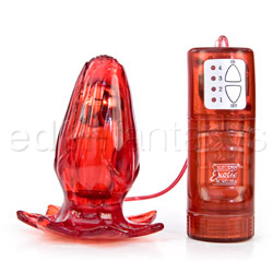 Emma's rose bulb - vibrating anal plug