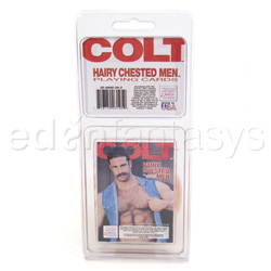 juego de adulto - Colt hairy chested men cards - view #2