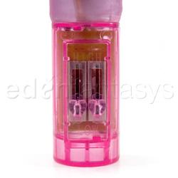 Rabbit vibrator - Jesse Jane's pink ladybug vibe - view #4