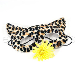 Estuches para BDSM - Kitty Kat mask with whip - view #3