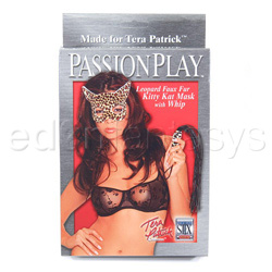 Estuches para BDSM - Kitty Kat mask with whip - view #4
