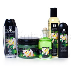 Massage kit - Garden of edo organic collection - view #1