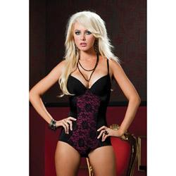 Undercover lover bodysuit
