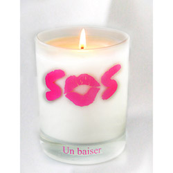 Un baiser - massage candle