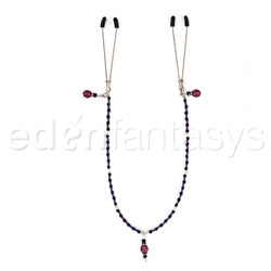 Nipple clamps - Single strand beaded clamps - view #1