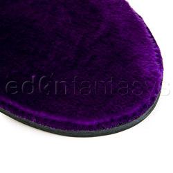 Paddle - Purple fur line paddle - view #2
