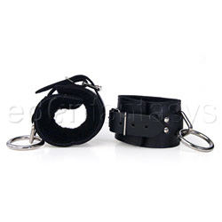 argolla para muñeca - Fleece lined wrist restraints - view #2