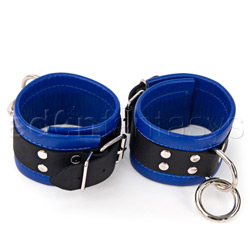 Restraints - Black and blue medium restraints - view #2