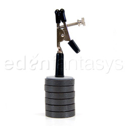 Weights with clip adjustable - nipple clamps