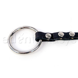 Y style nipple clamps with cock ring - Y style clamp with cock ring adjustable - view #4