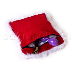 Storage container - Holiday hide a gift pillow - view #2