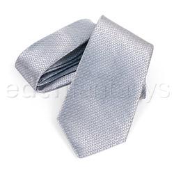 Restraints - Sex and Mischief grey tie - view #2