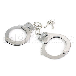 Sex and Mischief metal handcuffs - bondage toy