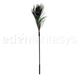 Peacock tickler - sex toy for couples