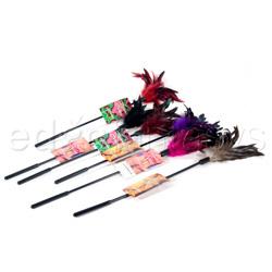 Starburst feather 6ps - Tickler