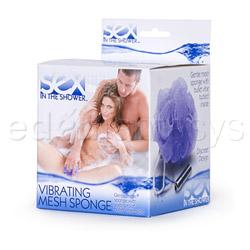Massage mitt - Sex in the Shower vibrating mesh sponge - view #4