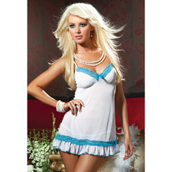 Romance chemise and G-string