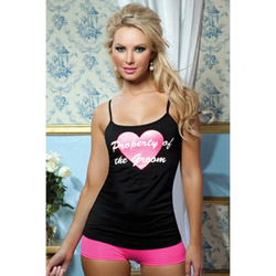 Property of the groom cami - camisole