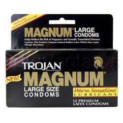 Male condom - Magnum warm sensations - view #3