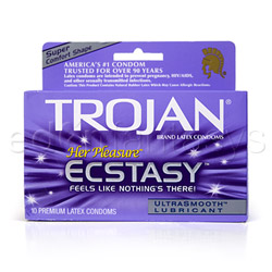Trojan her pleasure ecstasy - male condom