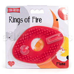 Cock ring - Rings of fire flame - view #5