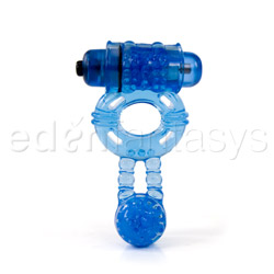 Climax gems blue mood - vibrating penis ring