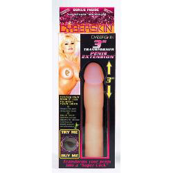 Cyberskin penis extension - sex toy