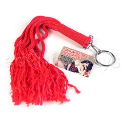 Japanese silk love rope plaited flogger - bondage toy