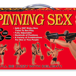 Spinning sex swing