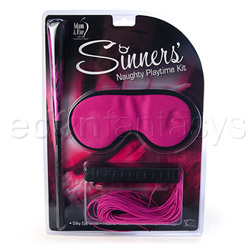 Sinner's naughty playtime kit - BDSM kit