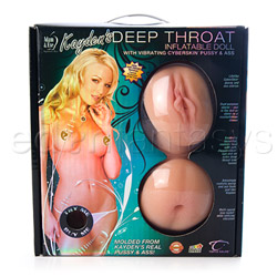 Kayden's kross deep throat doll - female love doll