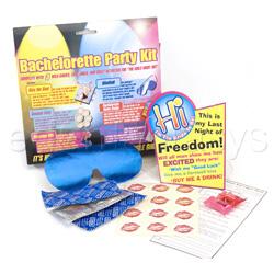 Bachelorette party kit - bromas