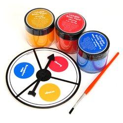 Hot Spots - body paint