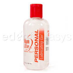 Personal lubricating gel - water based lube
