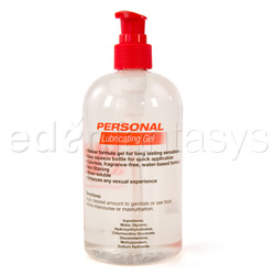 Lubricant - Personal lubricating gel - view #2
